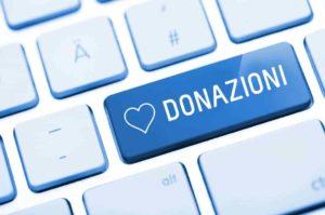 donazioni min 300x199 - Donazioni