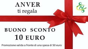 buono 10 euro 300x169 - Promozioni natalizie. Le proposte dell'Anver