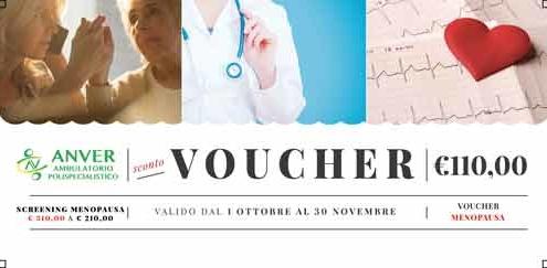 menopausa Voucher 495x243 - Screening Menopausa - Mese della prevenzione 2019